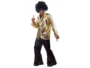 Αποκριάτικη στολή Σακάκι disco χρυσό