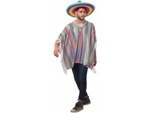 Αποκριάτικη στολή Πόντσο Μεξικάνος