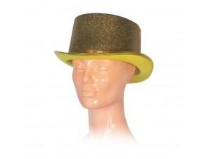Αποκριάτικο Καπέλο ημίψηλο χρυσό