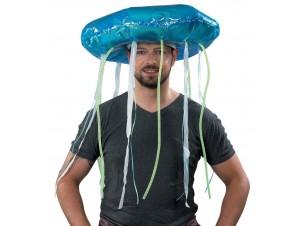 Αποκριάτικο Καπέλο μέδουσας με φως