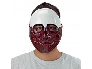 Αποκριάτικη Μάσκα κόκκινης μούμιας