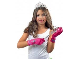 Αποκριάτικο Σετ πριγκίπισσας με γάντια