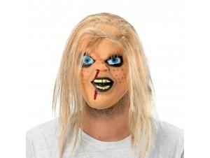 Αποκριάτικη Μάσκα κούκλας τρόμου