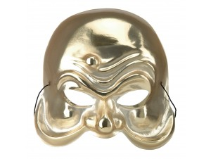 Αποκριάτικη Μάσκα αρλεκίνου χρυσή
