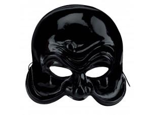 Αποκριάτικη Μάσκα αρλεκίνου μαύρη