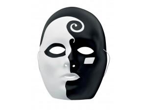 Μάσκα ασπρόμαυρη
