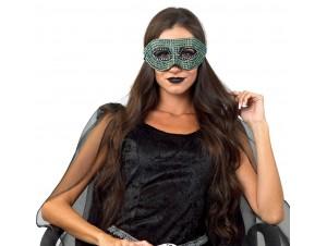 Μάσκα ματιών με στρας