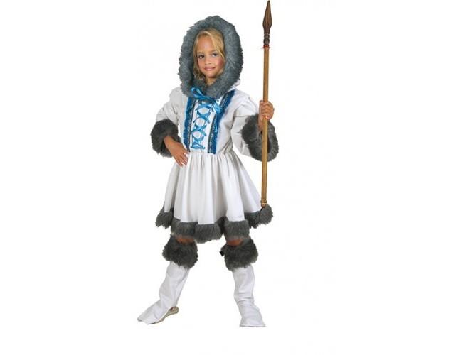 Αποκριάτικη στολή Κορίτσι Εσκιμώα