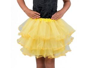 Αποκριάτικο αξεσουάρ Φούστα Tutu Παιδική Κίτρινη