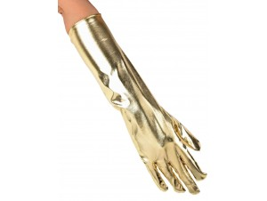 Γάντια μακριά μεταλλιζέ