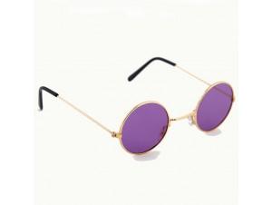 Κίτρινα μεγάλα στρογγυλά γυαλιά