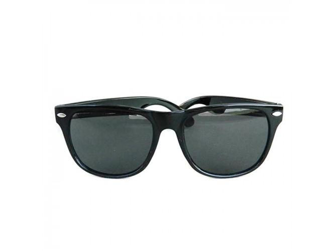 Αποκριάτικα γυαλιά Στρογγυλά Μαύρα