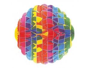 Αποκριάτικη Γιρλάντα Πολύχρωμη Μπάλα
