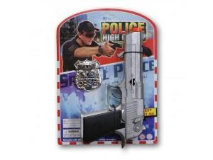 Αποκριάτικο Μεταλλικό Οπλο Αστυνομικού  8σφ