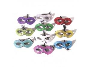 Αποκριάτικη μάσκα ματιών με γκλίτερ