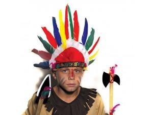 Αποκριάτικο καπέλο Ινδιάνου