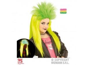 Αποκριάτικη Περούκα Πράσινη