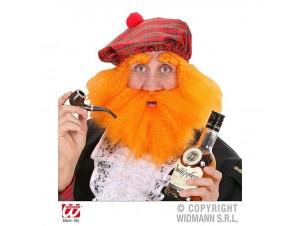 Αποκριάτικο καπέλο Σκωτζέζου με μαλλιά