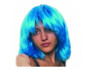 Αποκριάτικη Περούκα ΗΡΩ Μπλε