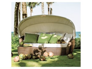 PEAKOCK DAYBED Καθιστικό-κρεβάτι με σκίαστρο