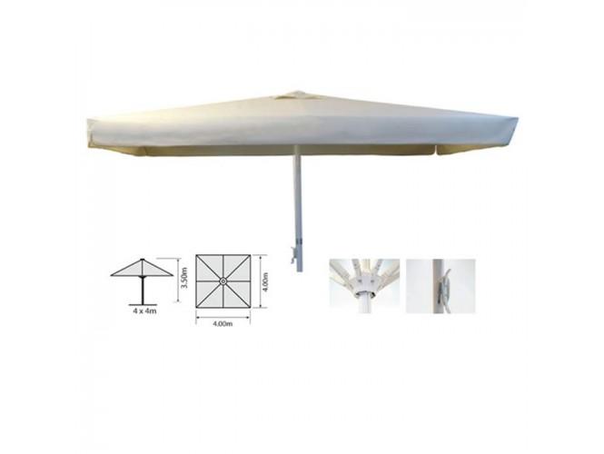 Ομπρέλα Αλουμινίου AVAKADO 4 x 4 m Εκρού