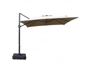 Ομπρέλα με εξωτερικό βραχίονα Περιστρεφόμενη Gloria Eco