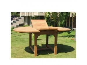 TEAK Τραπέζι κήπου επεκτεινόμενο