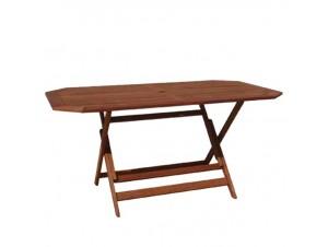 Τραπέζι κήπου οχτάγωνο πτυσσόμενο