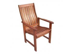 Πολυθρόνα Κήπου ξύλινη Σταθερή