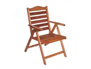 Πολυθρόνα Κήπου ξύλινη Πτυσσόμενη BASIC