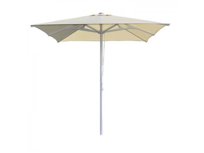 Ομπρέλα Αλουμινίου  2.2 x 2.2 m Εκρού