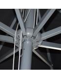 Ομπρέλα Αλουμινίου  2.2 x 2.2 m Γκρι