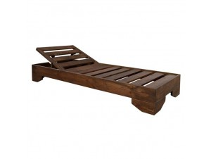 PAROS Επαγγελματική Ξαπλώστρα ξύλινη