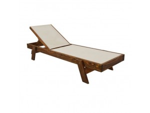 IOS PVC Επαγγελματική Ξαπλώστρα ξύλινη