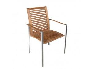 Πολυθρόνα αλουμινίου MAXIM