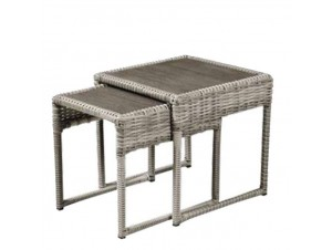Set 2 Τραπέζια Ξύλο-συνθετικό