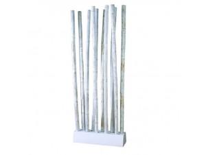 Διαχωριστικό - παραβάν από bamboo σε ξύλινη βάση
