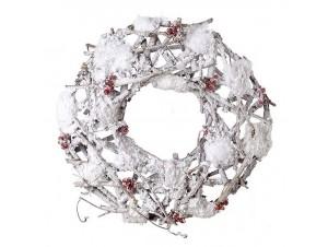 Χριστουγεννιάτικο στεφάνι 38 εκ