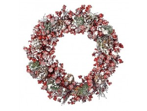 Χριστουγεννιάτικο στεφάνι 45 εκ