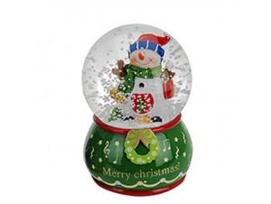 Χριστουγεννιάτικη Χιονόμπαλα 10 εκ