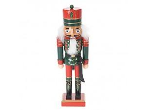 Χριστουγεννιάτικο Διακοσμητικό Ξύλινος Καρυοθραύστης 25 εκ.
