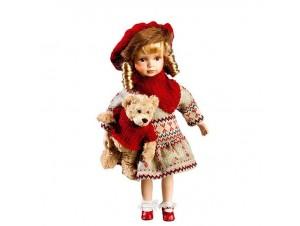 Διακοσμητική Πορσελάνινη Κούκλα, 47 εκ.