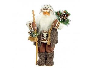 Χριστουγεννιάτικο Διακοσμητικό Άγιος Βασίλης Με Ραβδί, 48 εκ.