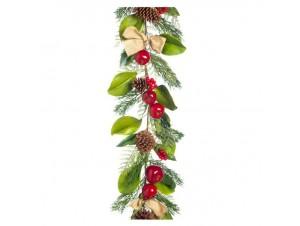 Χριστουγεννιάτικη γιρλάντα διακόσμησης 175 εκ.