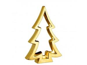 Χριστουγεννιάτικο Διακοσμητικό Κεραμικό Δεντράκι, 19x28 εκ