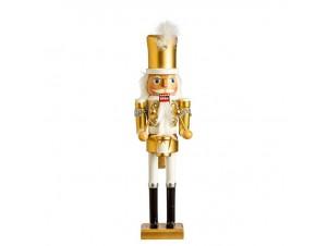 Χριστουγεννιάτικο Διακοσμητικό Ξύλινος Καρυοθραύστης 38 εκ.