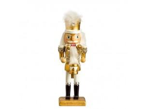 Χριστουγεννιάτικο Διακοσμητικό Ξύλινος Καρυοθραύστης 20 εκ.