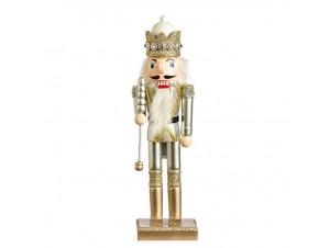 Χριστουγεννιάτικο Διακοσμητικό Ξύλινος Καρυοθραύστης 26 εκ.
