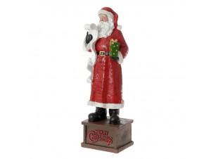 Άγιος Βασίλης με λίστα και δώρα 40 εκ.