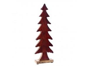 Ξύλινο Χριστουγεννιάτικο Διακοσμητικό Δέντρο 14 x 42 εκ.